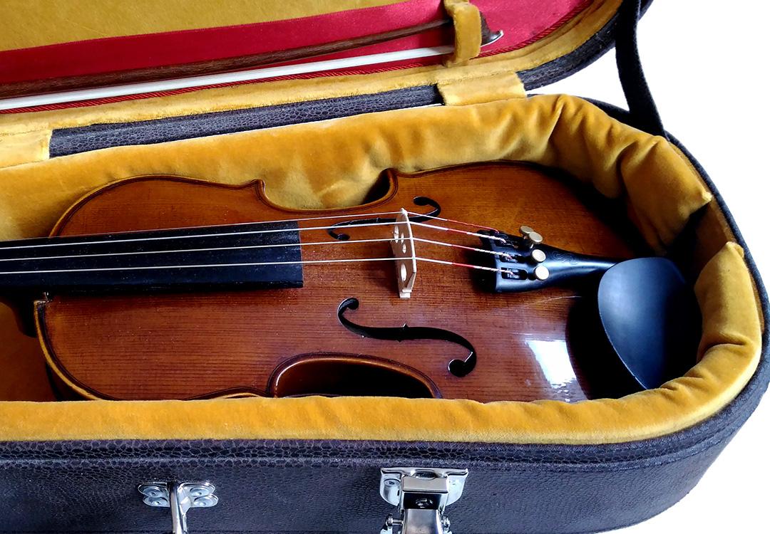 violon 3/4 Etui conçu pour un violoniste en herbe de 7ans